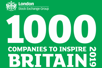 Hudson makes the London Stock Exchange list of 1000 Companies to Inspire Britain!