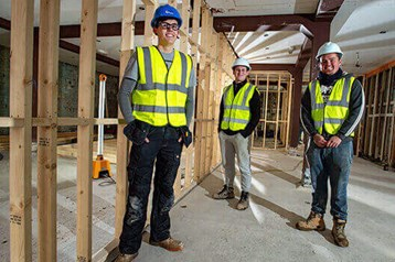 Hudson sponsors 150th apprentice in scheme to boost skills in seaside communities