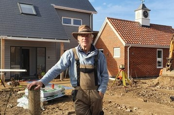 Lockdown House: Hudson stalwart completes self-build project in 19 weeks